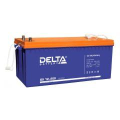 Аккумуляторная батарея Delta GX 12-200 Gel