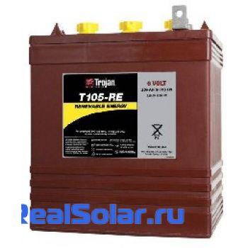 Аккумуляторная батарея TROJAN T105 RE 6V 225А/ч