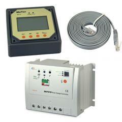 Контроллер заряда EPSolar Tracer MPPT 1210RN 10A Input 100V +LCD remote meter
