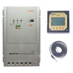 Контроллер заряда EPSolar Tracer MPPT 4210RN 45A Input 100V +LCD remote meter