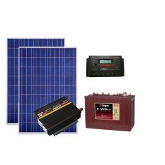 Солнечная электростанция для дачи 1200 Вт 12В