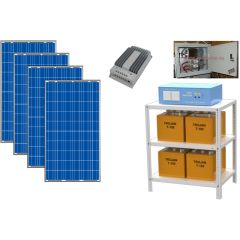 Солнечная электростанция для загородного дома 3000Вт 48В 225 Ач