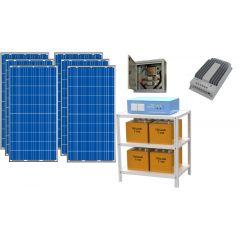 Солнечная электростанция для частного дома 4500Вт 48В 225 Ач