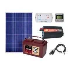 Солнечная электростанция для дачи 600Вт 12В