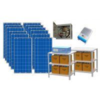 Солнечные электростанции для дома, коттеджа — Премиум