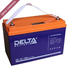 Аккумуляторная батарея Delta GX 12-100 А/ч гелевая