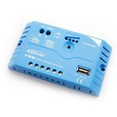 Контроллер заряда LS1012EU,10A,12V , 5V USB