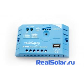 Контроллер заряда LS0512EU,5A,12V , 5V USB