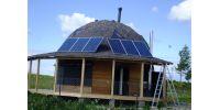 Солнечные панели на крыше, автономка