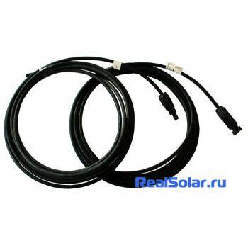 Солнечный кабель 6 мм - 1 метр