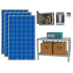 Солнечная электростанция для загородного дома 2000Вт 24В 225 Ач